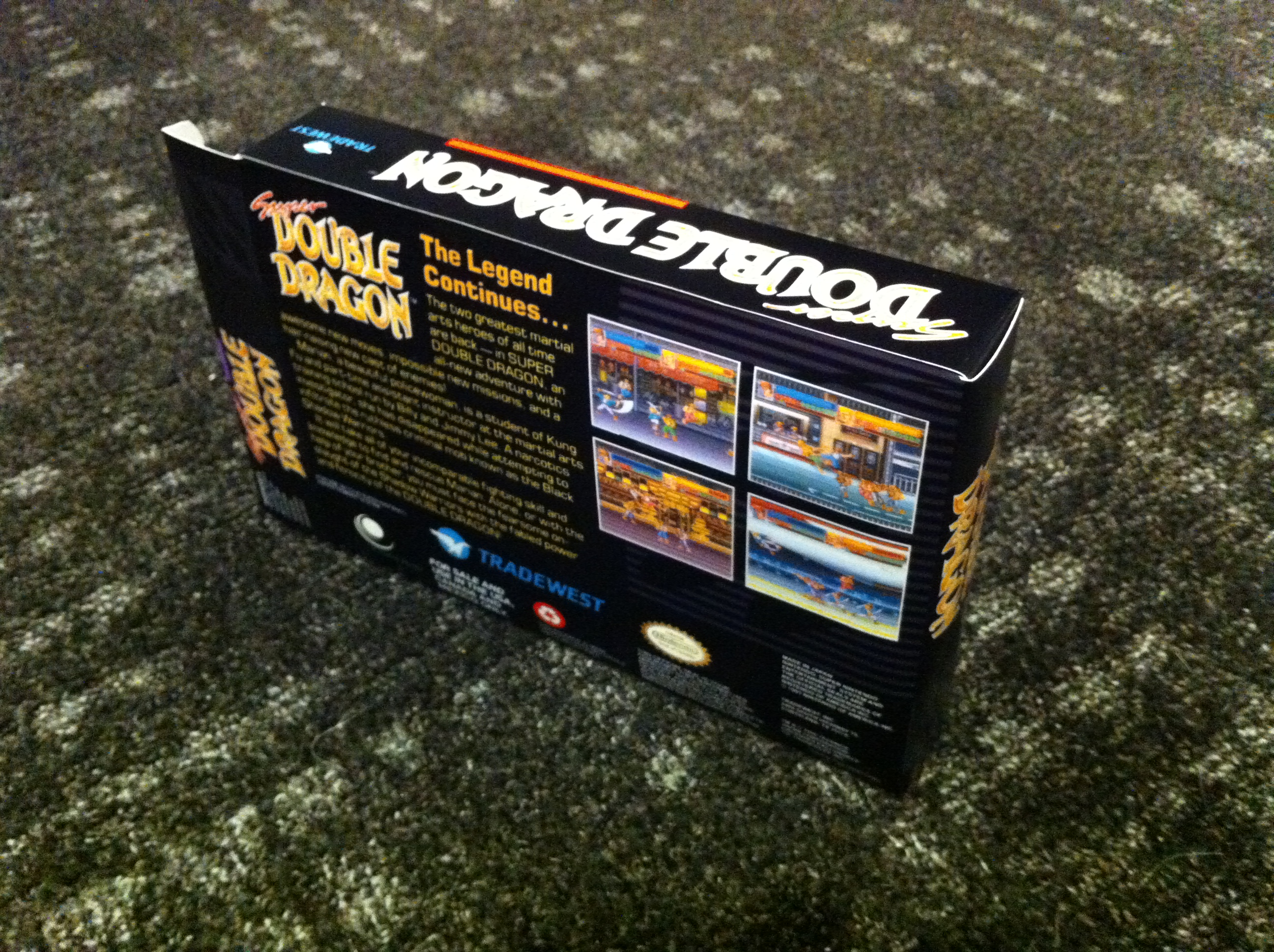 Super Double Dragon Boxbox My Games Reproduction Game Boxes