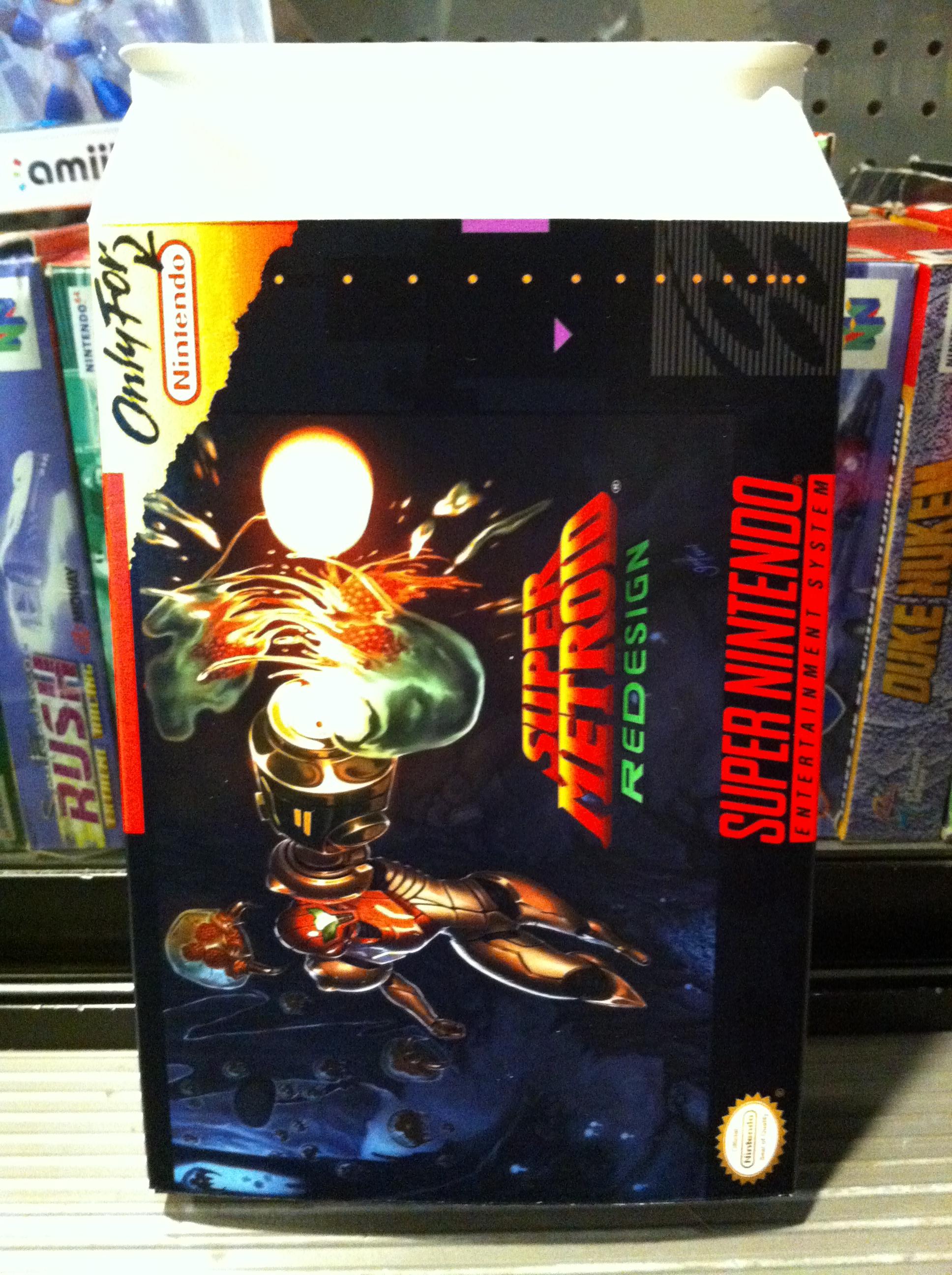Super Metroid: Redesign
