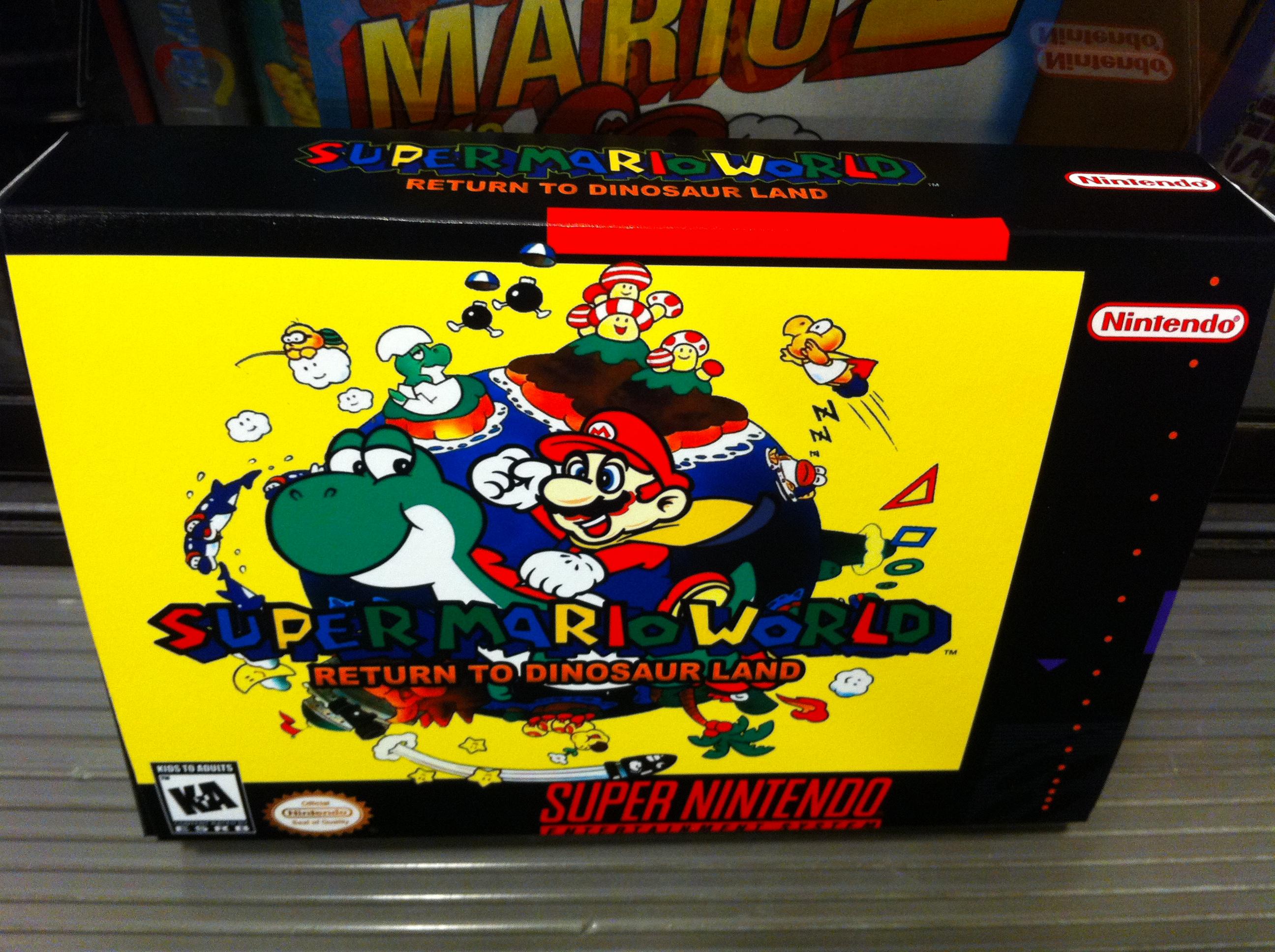 Smw return to dinosaur land - Super Mario World Return To Dinosaur