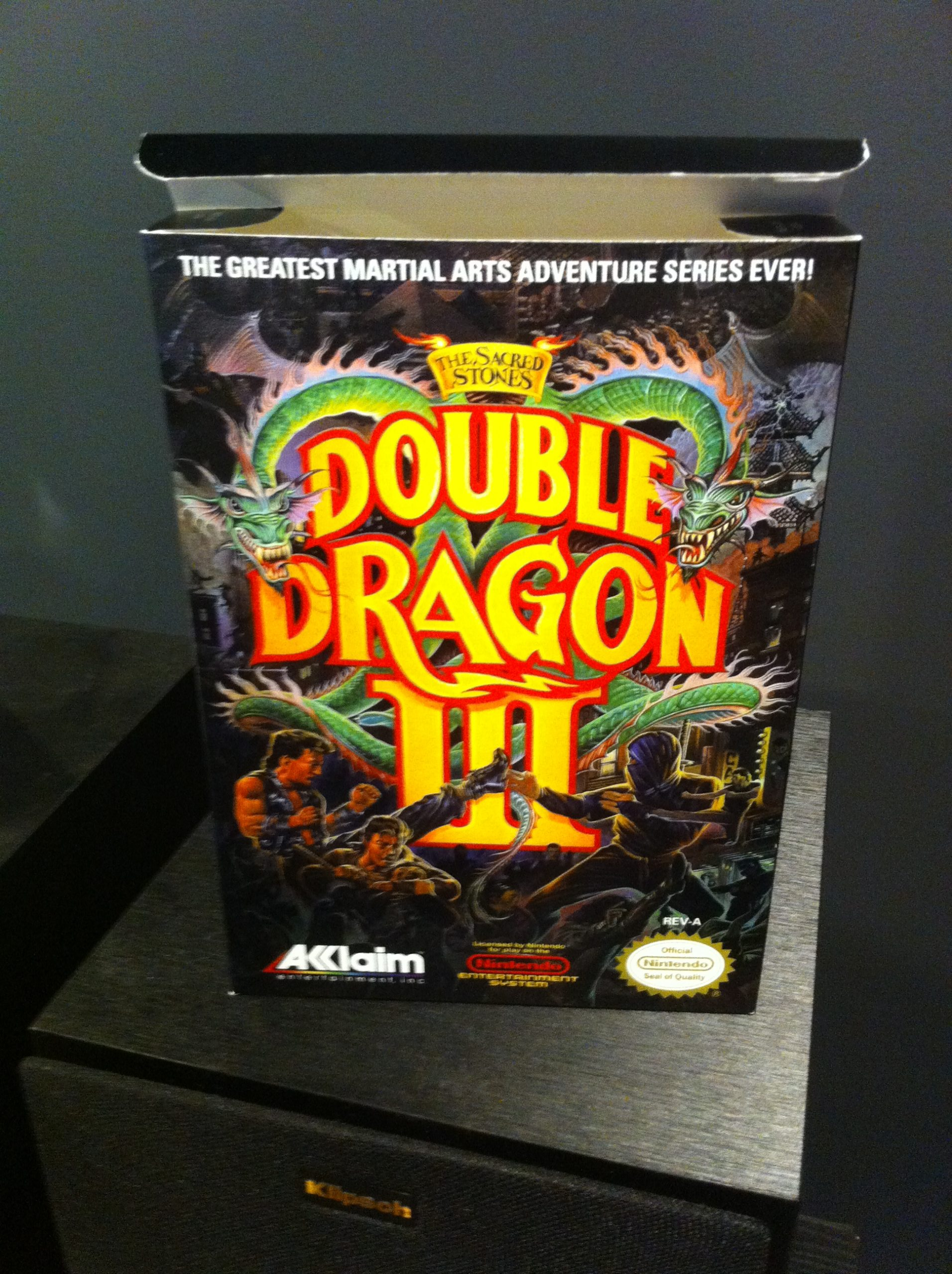 Nes Double Dragon 3 Boxbox My Games Reproduction Game Boxes
