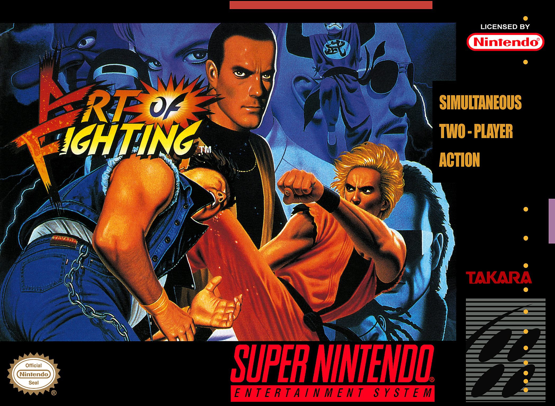 Art Of Fighting Boxbox My Games Reproduction Game Boxes